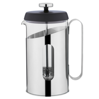 French press na prípravu kávy